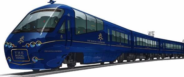 東急・伊豆急が新観光列車「THE ROYAL EXPRESS」 伊豆観光の盛り上げ役に - ITmedia ビジネスオンライン