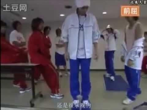 ジャニーズ大運動会2003 体力測定 - YouTube