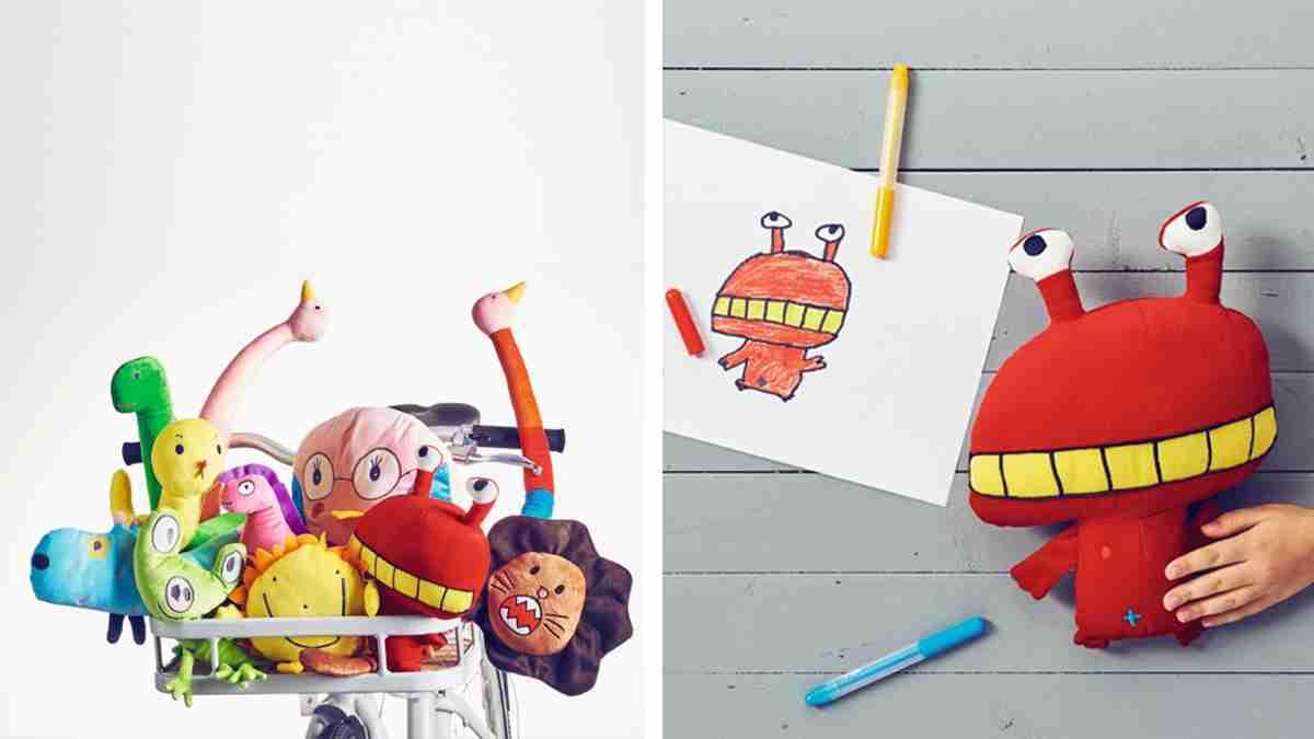 子どもたちの描いた絵がぬいぐるみになるコンテスト。選ばれたものは世界中で販売へ! | TABI LABO