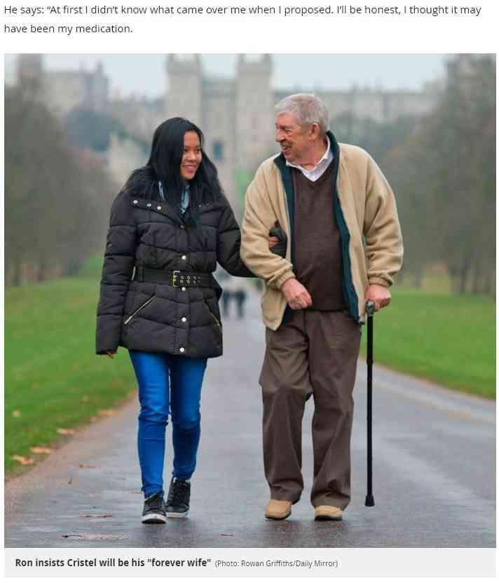 【海外発!Breaking News】68歳男性 42歳年下女性と9回目の結婚を計画中(英) | Techinsight|海外セレブ、国内エンタメのオンリーワンをお届けするニュースサイト