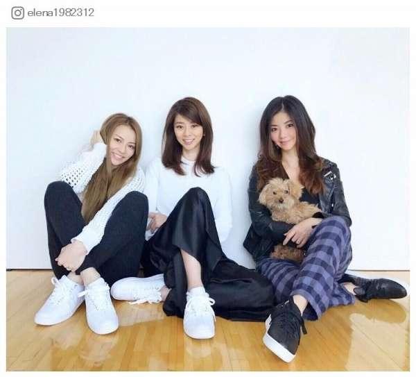 香里奈、美人三姉妹でお揃いコーデ 久々集合ショットにファン歓喜 - モデルプレス