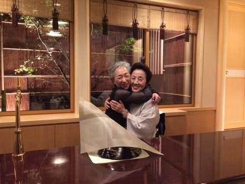 母とまめ藤ちゃん|ABKAI 市川海老蔵オフィシャルブログ Powered by Ameba