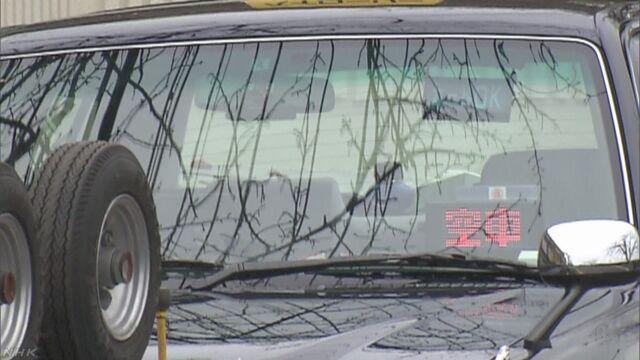 タクシー運転手意識失う 乗客がハンドル操作し停止 千葉 浦安 | NHKニュース