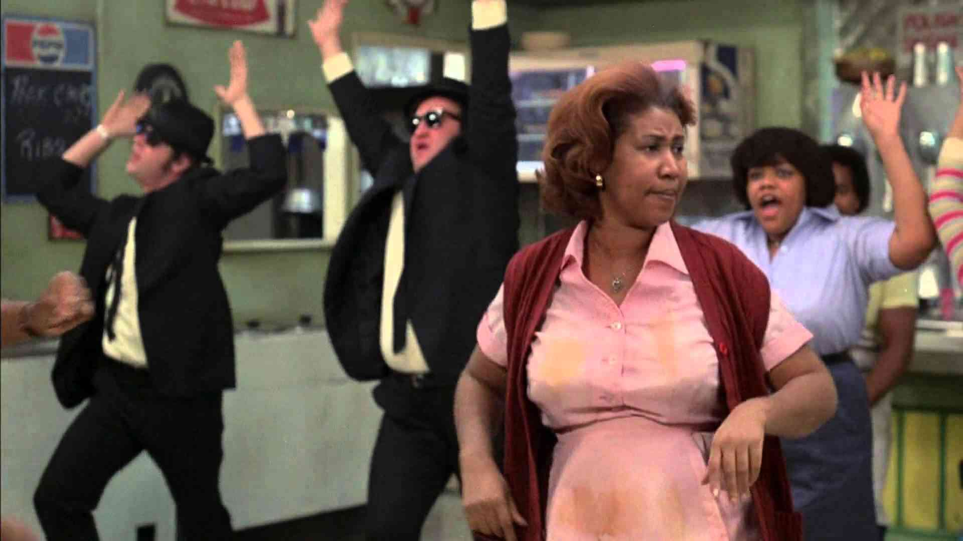 Aretha Franklin - Think (feat. The Blues Brothers) - 1080p Full HD - YouTube