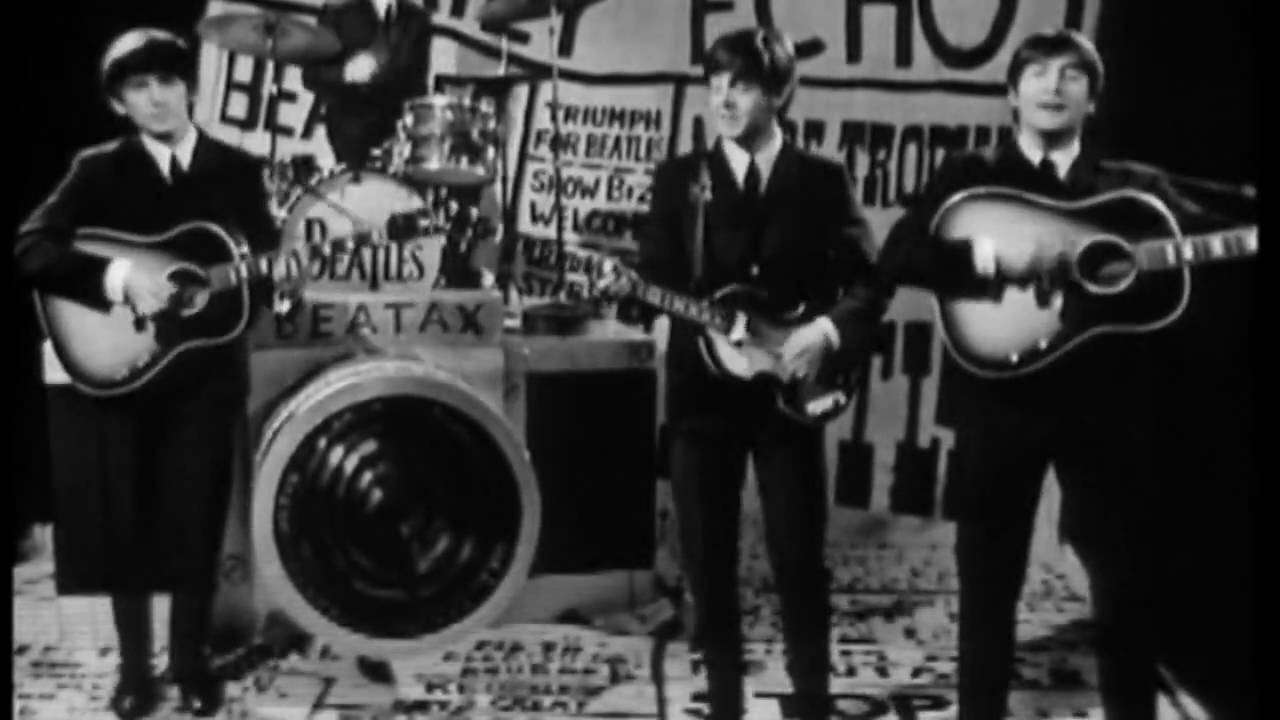 The Beatles - I Want To Hold your Hand [HD] - YouTube