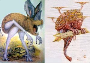 遺伝子操作で未来に生き残った人類、「マンアフターマン」にでてくる異型の人類 : カラパイア