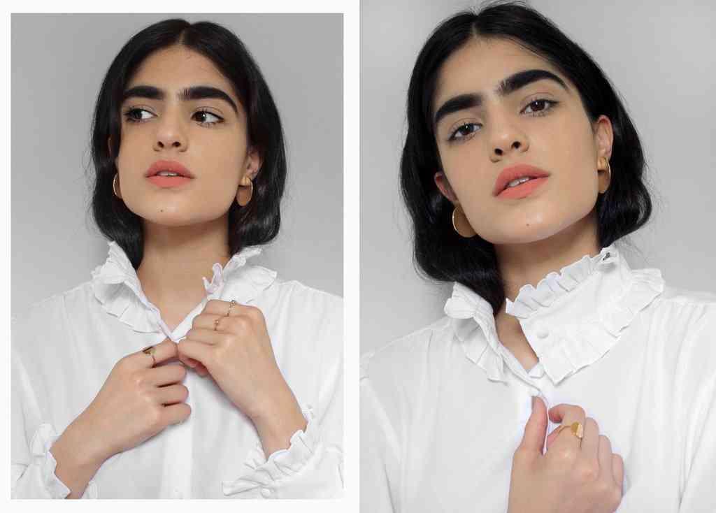 眉毛のせいでいじめられた17歳の女の子 魅力に変えてモデルとして羽ばたく