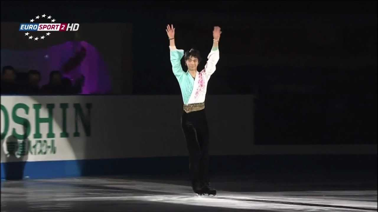 Yuzuru HANYU EX (+encore) - NHK Trophy 2012 - YouTube
