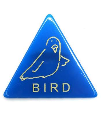 鳥グッズを貼ろう