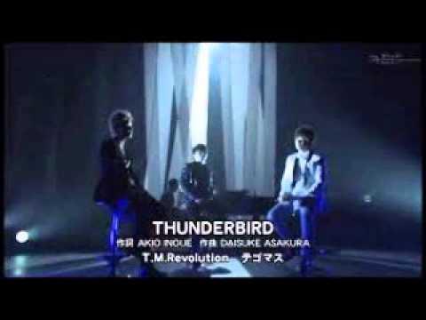 """THUNDERBIRD"" T.M Revolution×テゴマス - YouTube"