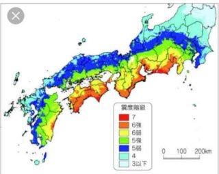 【地震】三重県、大阪府、奈良県、和歌山県で震度4、津波の心配なし