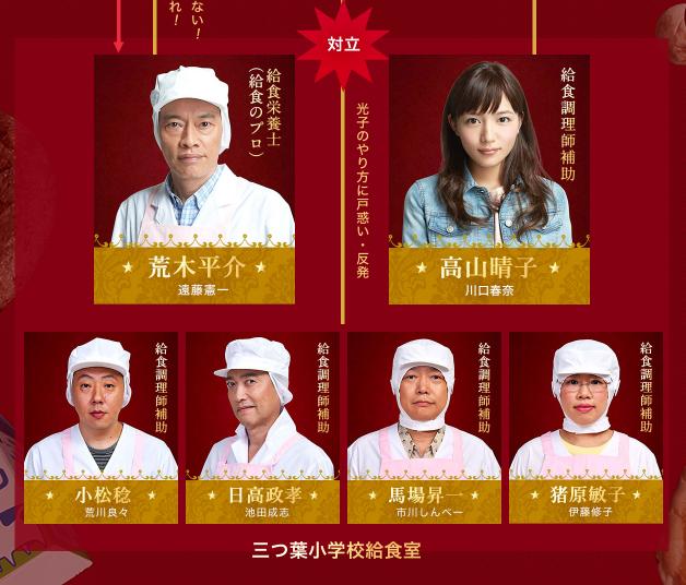 [実況・感想]  Chef 〜三ツ星の給食〜 第5話