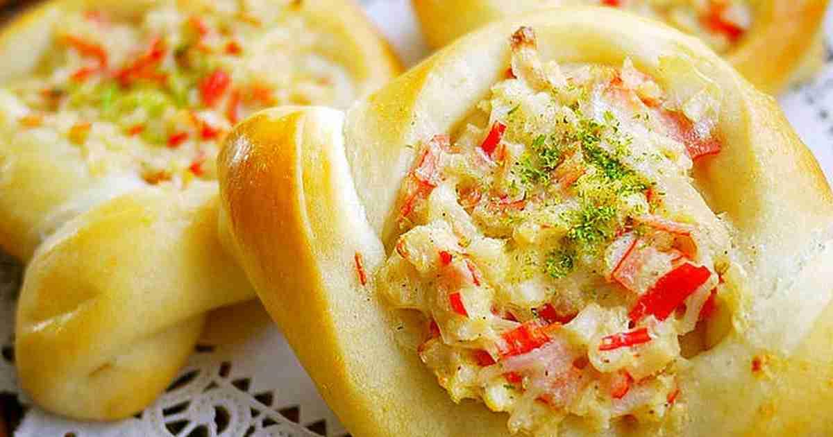 おうちでパン屋さん*蟹カマ惣菜パン by putimiko [クックパッド] 簡単おいしいみんなのレシピが253万品