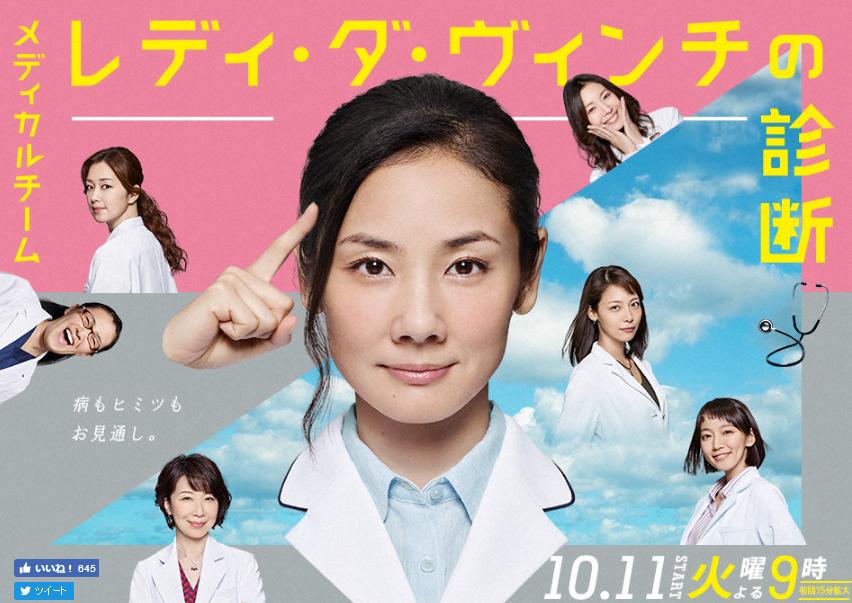 【実況・感想】メディカルチーム レディ・ダ・ヴィンチの診断 5話