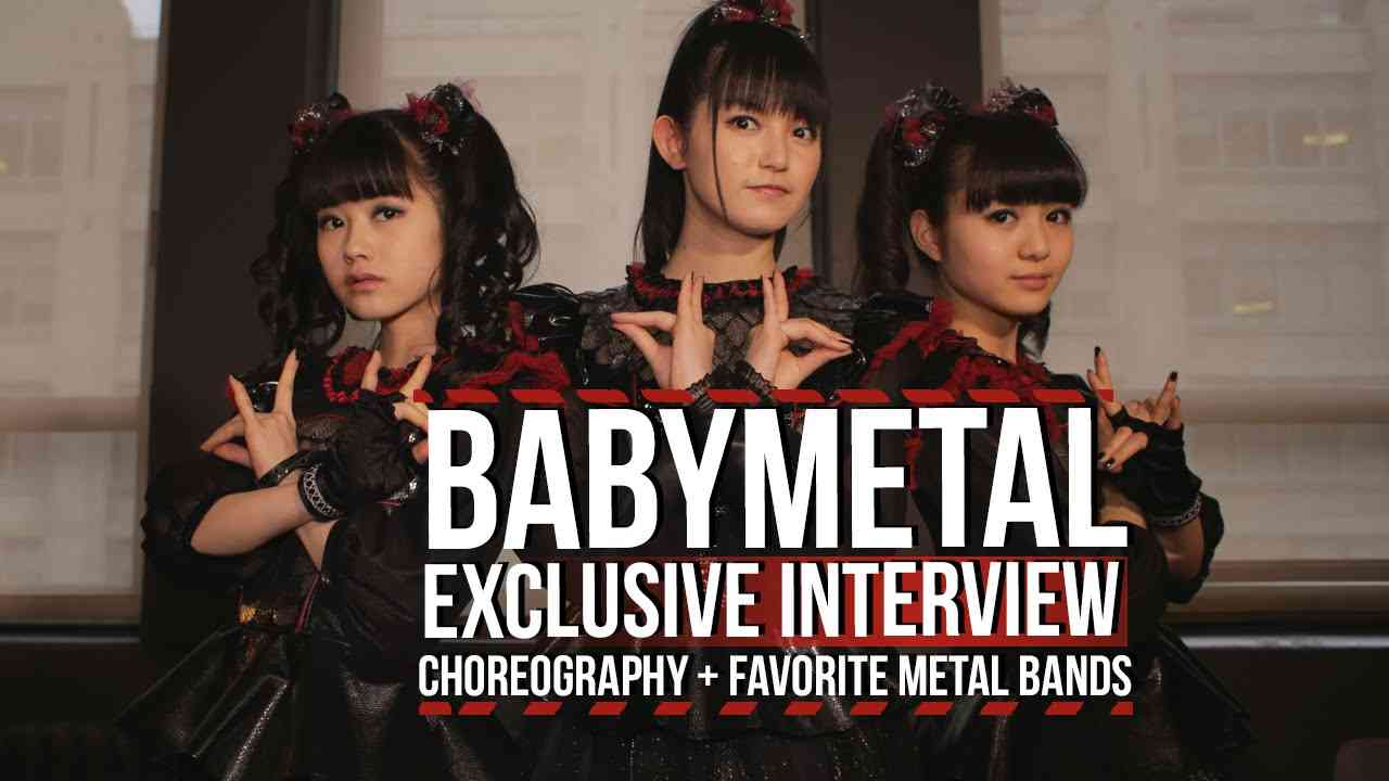 Babymetal on Their Choreography + Favorite Metal Bands - YouTube