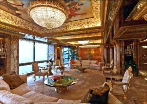 自称$100ミリオンのドナルド・トランプの5番街御殿と、実際に100ミリオンで売却されたペントハウスを比較!
