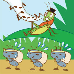 アリとキリギリス…どっちの生き方が好きですか?