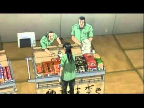 カイジvsビール 萩原聖人(アニメ)&藤原竜也(実写) - YouTube