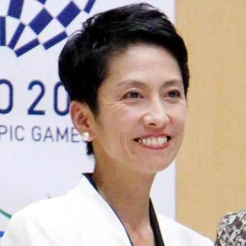 蓮舫代表、超イケメン息子が「ネット上の悪口気にしないで」 : スポーツ報知