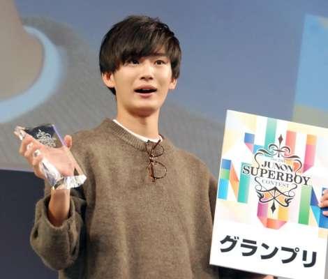 『ジュノンボーイ』GPは神奈川出身19歳・押田岳さん 1万4210人の頂点に | ORICON STYLE