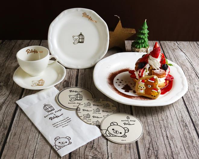 原宿に「コリラックマカフェ」が初出店 ふんわり可愛いコラボメニューお披露目