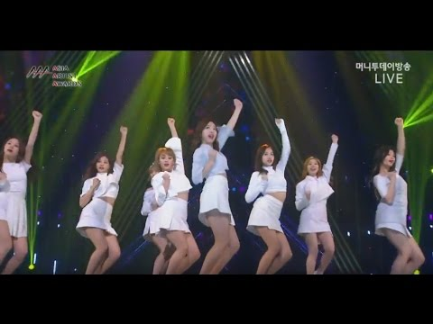161116 TWICE 트와이스 CHEER UP( 치어 업)+TT (티티) @ 2016 아시아 아티스트 어워즈 Asia Artist Aw - YouTube