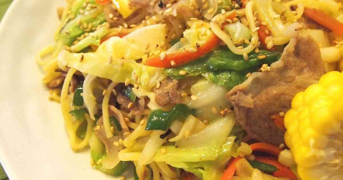 大人気!野菜たっぷり塩焼きそば by とむまろ [クックパッド] 簡単おいしいみんなのレシピが253万品