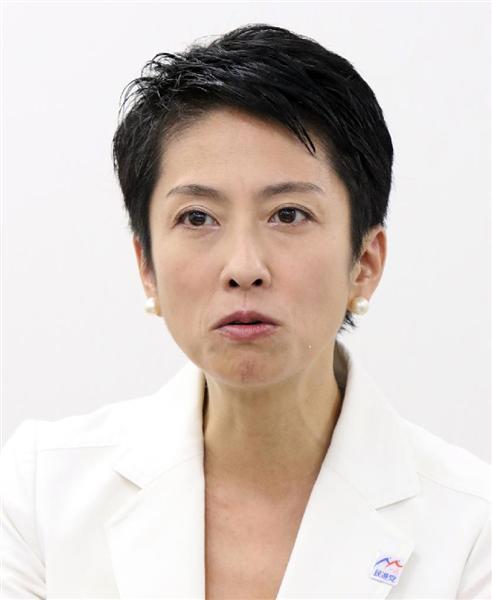 【二重国籍疑惑】民進・蓮舫代表代行「台湾籍残っていた」 党代表選辞退はせず
