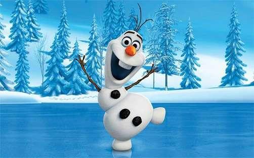 今年も雪だるま職人が動き出したか…雪で作ったアナ雪「オラフ」がありのまますぎる!