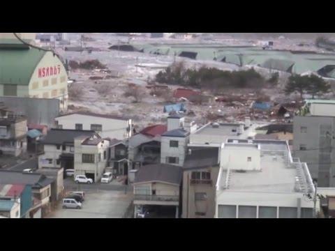 3.11 東日本大震災 釜石市大津波 地元TV局が捉えた魂の記録映像 - YouTube