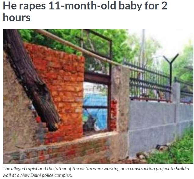 インドで乳児がまたレイプ被害 出血がひどく予断を許さない状況 - ライブドアニュース