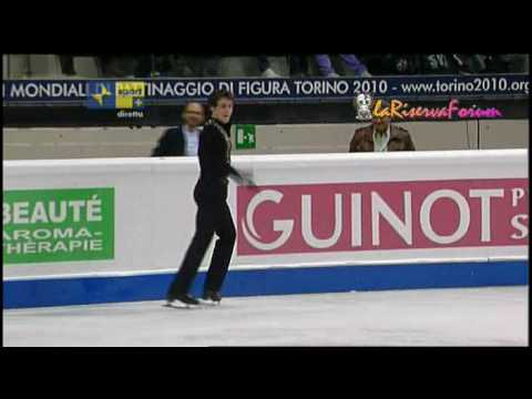 TORINO 2010 24/03/2010 - MEN Short Program -13/18- FRA Brian JOUBERT - YouTube