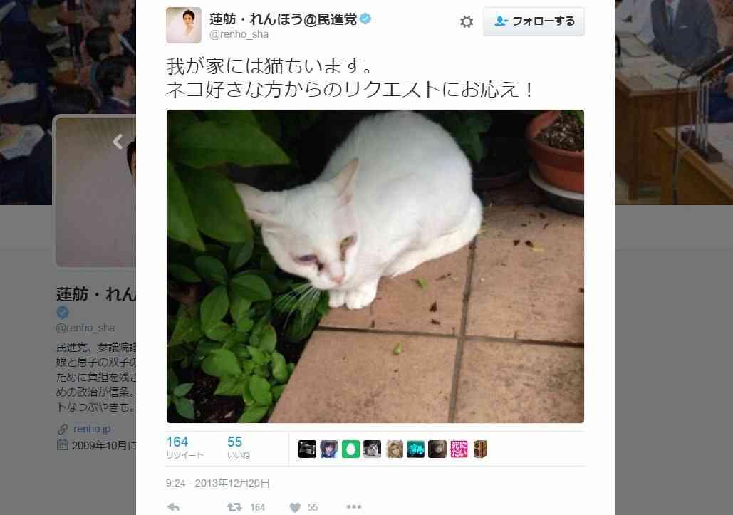 蓮舫代表、豪邸をテレビで初披露 超イケメン息子が「ネット上の悪口気にしないで」