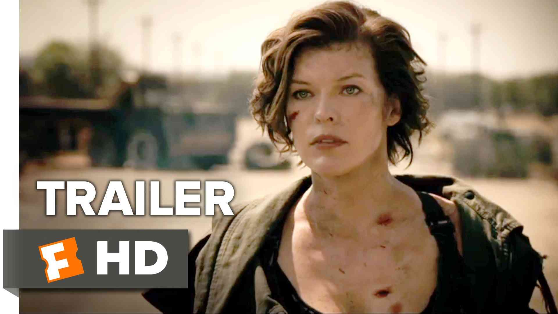 Resident Evil: The Final Chapter Official Trailer 1 (2017) - Milla Jovovich Movie - YouTube