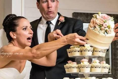 招待された結婚式での出来事