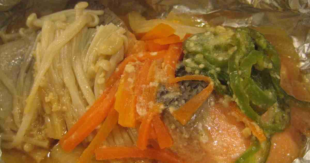 鮭のホイル焼きチャンチャン焼き風 by ますこちゃん! [クックパッド] 簡単おいしいみんなのレシピが253万品