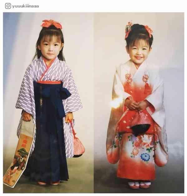 木下優樹菜、七五三写真が長女とそっくりすぎ「びっくりするくらい似てる」と驚きの声