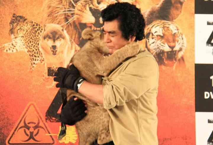 藤岡弘、:子ライオンと対決し首かまれる - MANTANWEB(まんたんウェブ)