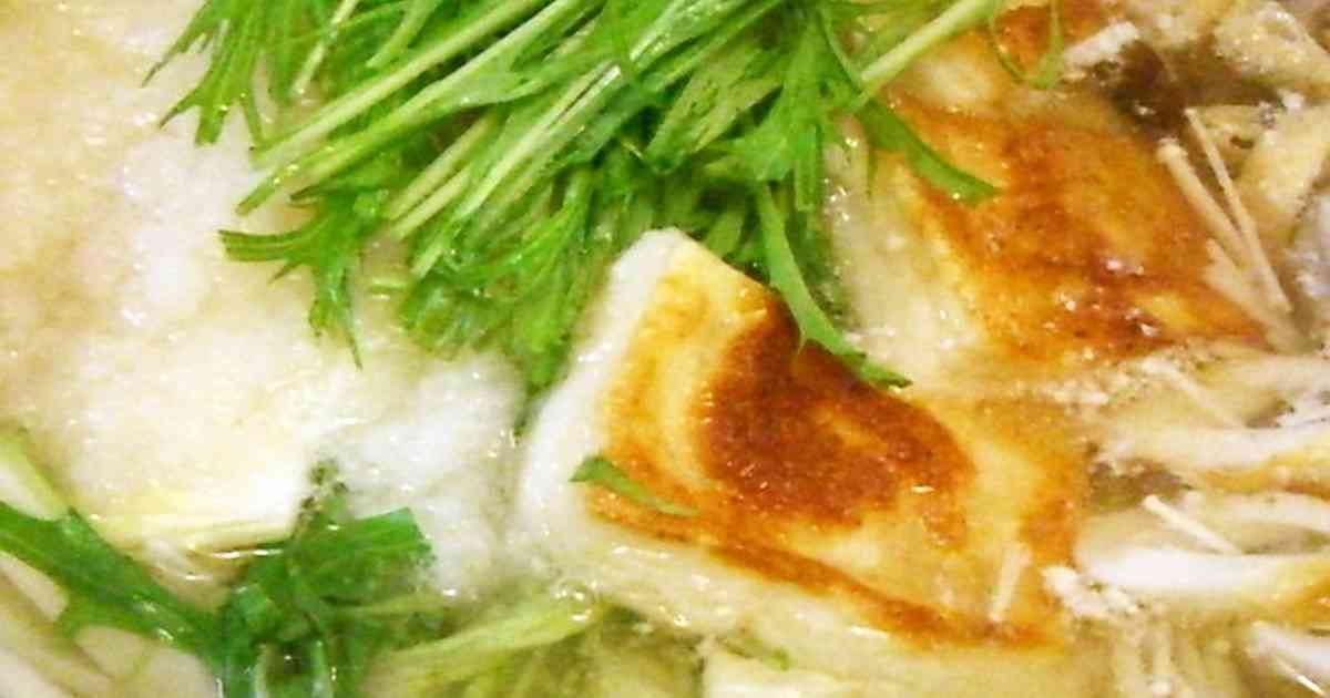 香ばしい♡みぞれ鍋 by とむまろ [クックパッド] 簡単おいしいみんなのレシピが253万品