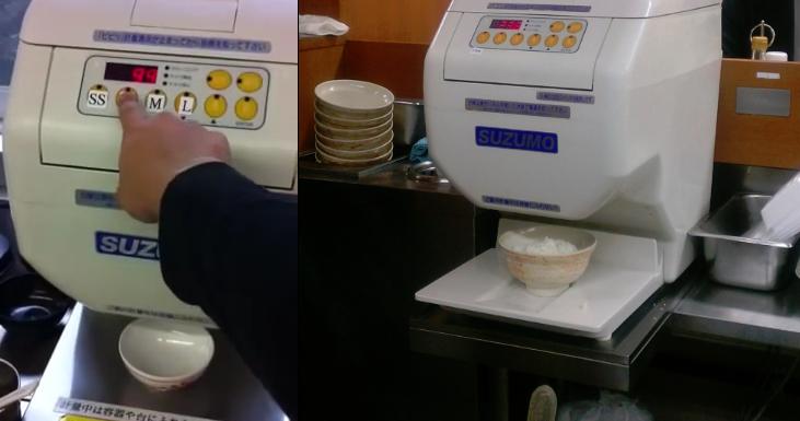 学食の「自動ご飯よそい機」からご飯がボトボトと落ちてくるのを見て人間の尊厳が失われた気がした | netgeek