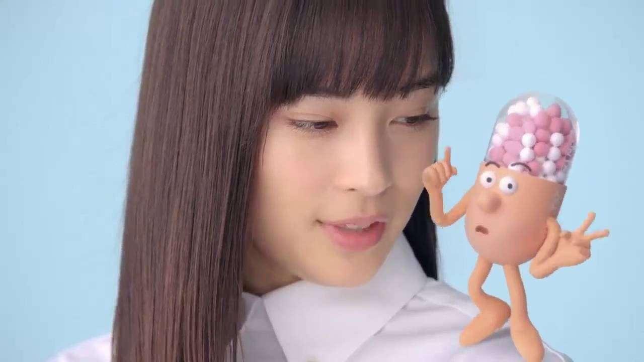 広瀬すず コンタックEX 「ねらい撃ち」篇 - YouTube
