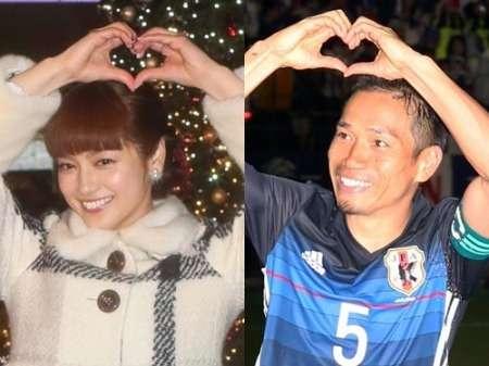 長友&平愛梨 来年1月結婚!「大殺界明け」17年早々ゴール (スポニチアネックス) - Yahoo!ニュース
