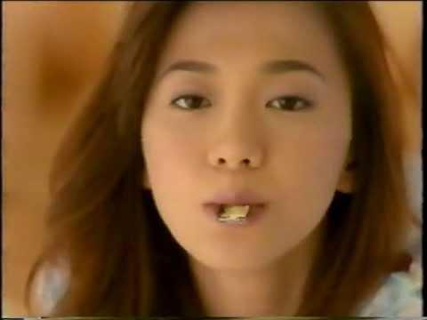 ロッテ 紗々 CM 華原朋美 1995 - YouTube