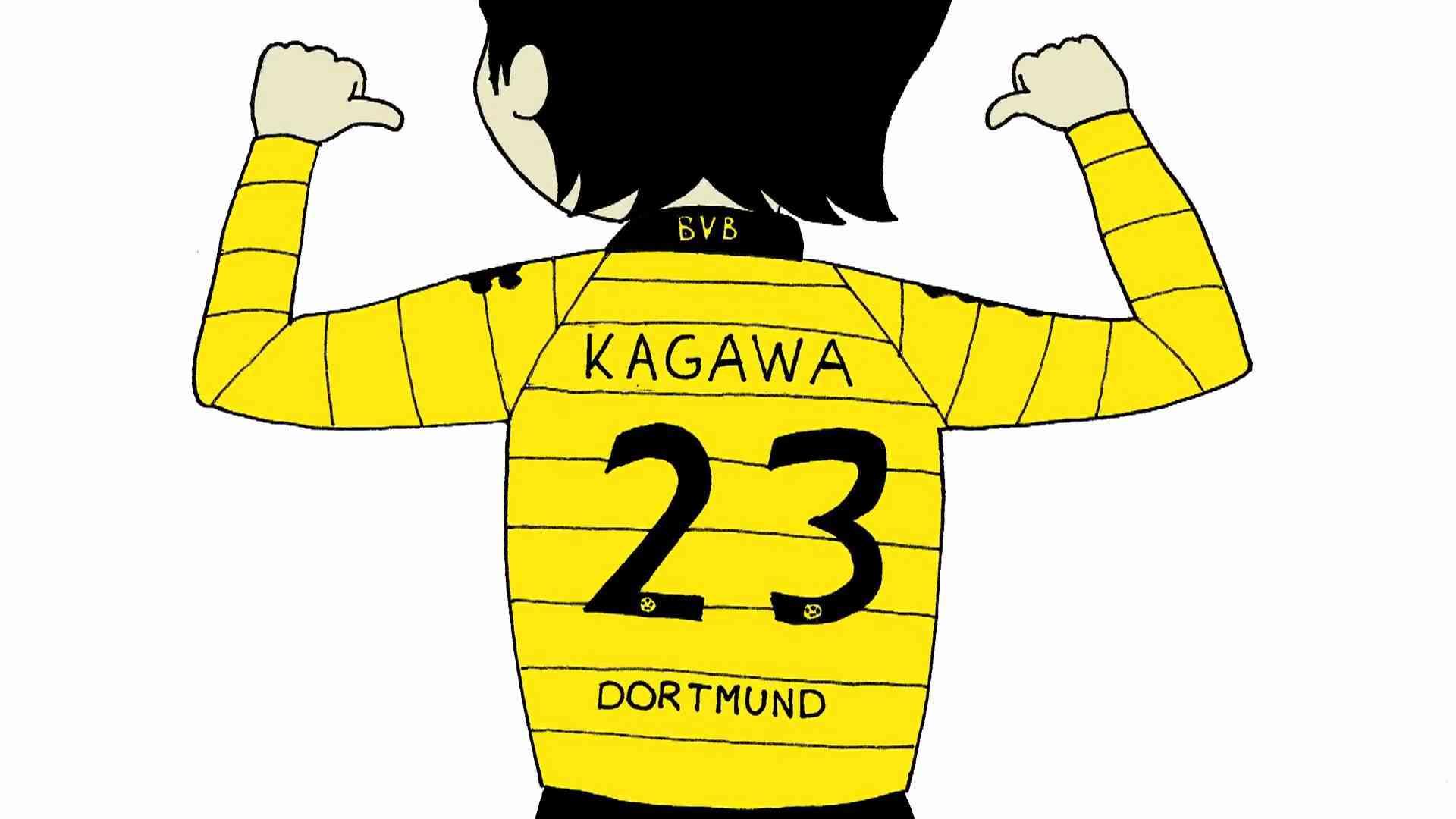 Kagawa Superstar - Der BVB Song zur Meisterschaft 2011 - YouTube