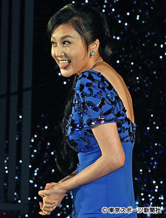 藤原紀香 久々のドレスに急きょ体づくり「3日間ぐらいすごいトレーニング」 (東スポWeb) - Yahoo!ニュース