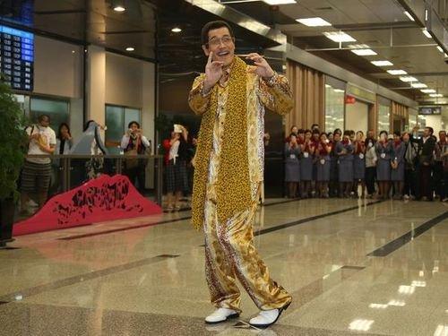 ピコ太郎、台湾訪問!「一番好きなフルーツは?」との質問も