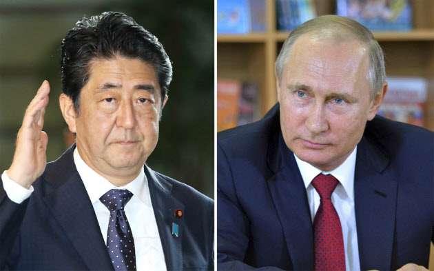 北方領土でロシアとの共同統治案 政府検討  :日本経済新聞