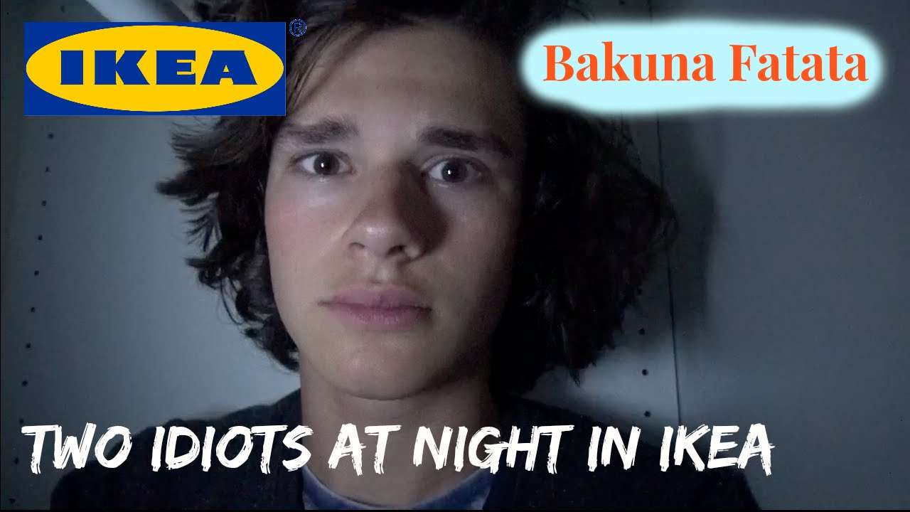TWO IDIOTS AT NIGHT IN IKEA - YouTube