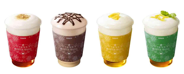 「午後の紅茶」の期間限定カフェが東京ミッドタウンに登場するよ / ときめきの「泡紅茶」を体感しにいこう♪ | Pouch[ポーチ]