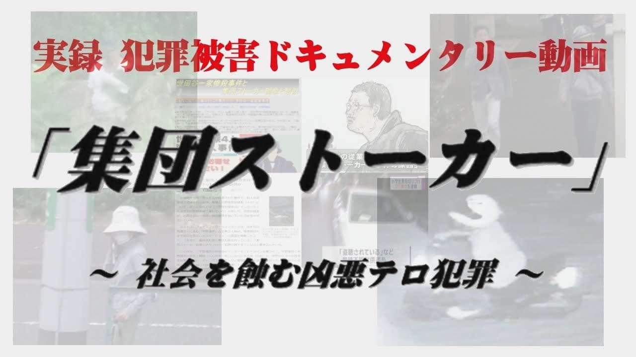 「集団ストーカー」 ~ 社会を蝕む凶悪テロ犯罪 ~ - YouTube